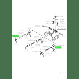 JAW,M/T GEARSHIFT 4TH & O/D RAIL 1