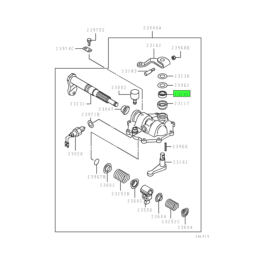 OIL SEAL,M/T SELECT LEVER SHAFT 1