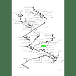BRACKET,GEARSHIFT LINK CROSS SHAFT 1