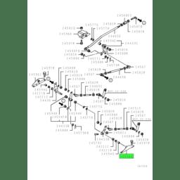 BRACKET,GEARSHIFT LINK 1