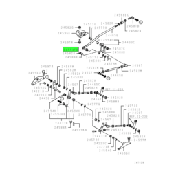 BUSHING,GEARSHIFT LINK 2
