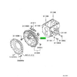 OIL SEAL,M/T MAIN DRIVE PINION 1