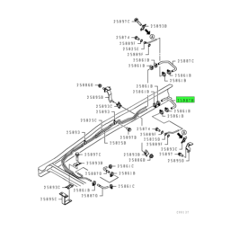 HOSE,T/M OIL COOLER LINE 4