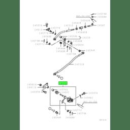 SHAFT,GEARSHIFT LINK CROSS 1